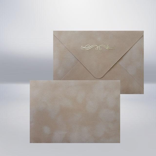 C6 Бархатний конверт coquillage
