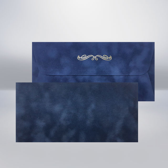 DL Бархатний конверт navy